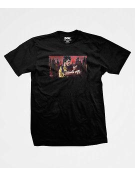 Dgk X Bruce Lee Warrior Black T Shirt by Dgk
