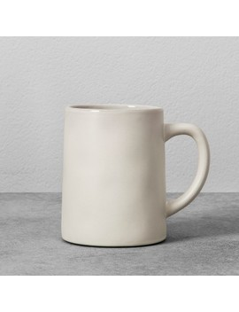 14oz Stoneware Mug   Hearth & Hand™ With Magnolia by Shop Collections