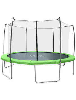 Pure Fun® Dura Bounce 15 Feet Trampoline With Enclosure In Green by Bed Bath And Beyond