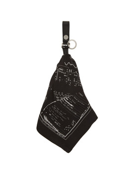 Black Bandana Keychain by Amiri