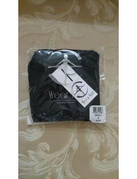 Brand New Wearmoi Wear Moi Ballet Dance Black Leotard Merveille Size S by Wear Moi