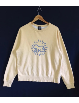 Vintage Keith Haring Sweatshirt Big Logo Radiant Baby by Keith Haring  ×