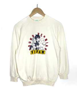 Vintage Ginga Hyoryu Vifam Japan Anime Sweatshirt by Vintage  ×  Japanese Brand  ×