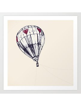 Balloon Art Print by Society6