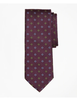 Two Tone Flower Tie by Brooks Brothers
