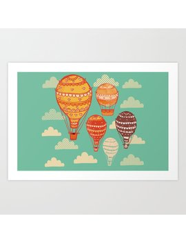Hot Air Balloons Art Print by Society6