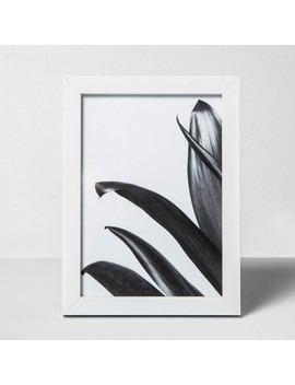 Thin Single Picture Frame White   Made By Design™ by Shop Collections