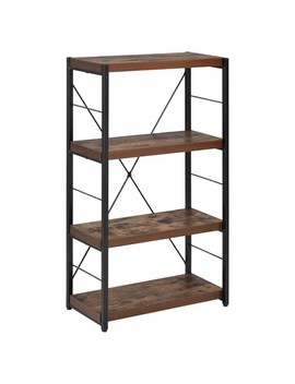 "Decorative Bookshelf 43"" Oak   Acme Furniture by Acme Furniture"