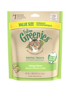 Greenies Feline Catnip Flavor Dental Cat Treats by Greenies