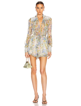 Super Eight Playsuit by Zimmermann