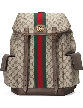 Ophidia Medium Gg Supreme Canvas Backpack by Gucci
