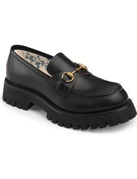 Bit Lug Sole Loafer by Gucci