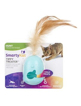 Smarty Kat Tippy Treater Wobbler Cat Toy by Smarty Kat