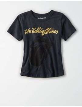 Ae Studio Boxy Cropped Graphic T Shirt by American Eagle Outfitters