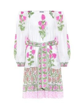Floral Cotton Minidress by Juliet Dunn