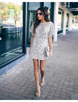 Late Night Sequin Mini Dress by Vici
