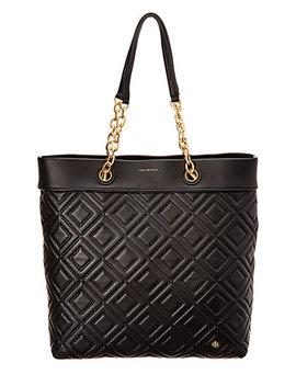 Tory Burch Fleming Leather Tote by Tory Burch