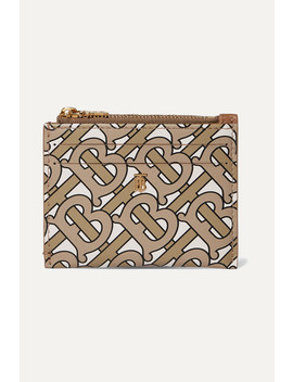 Simone Printed Leather Cardholder by Burberry