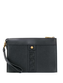 Greca Pouch Bag by Versace