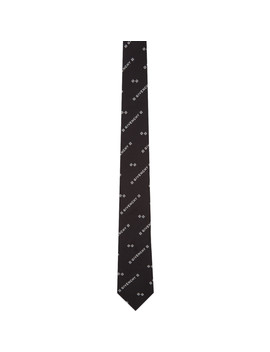 Black & White 4 G Tie by Givenchy