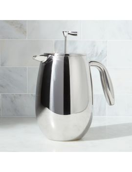 Bodum ® Columbia 34 Ounce Stainless Steel Double Wall Thermal French Press by Crate&Barrel
