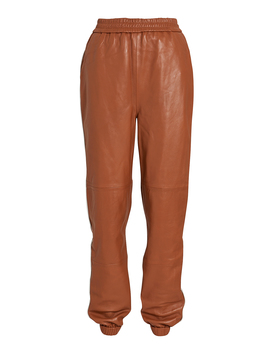 Vana Leather Track Pants by Gestuz
