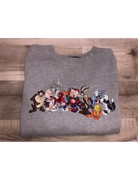 Warner Brothers Looney Toons Character Sweatshirt by Warner Bros.