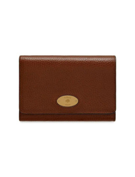 Mulberry Plaque Medium French Purse by Mulberry