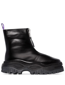 Raven Chunky Ankle Boots by Eytys