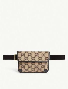 Gg Wool Belt Bag by Gucci