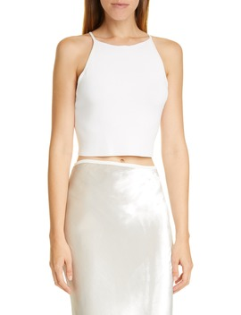 Lili Sleeveless Knit Crop Top by Cult Gaia