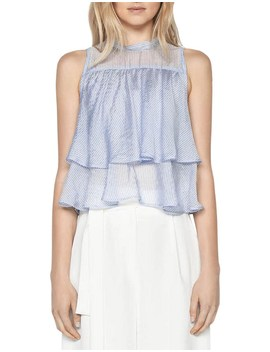 Stripe Tiered Top by Cue