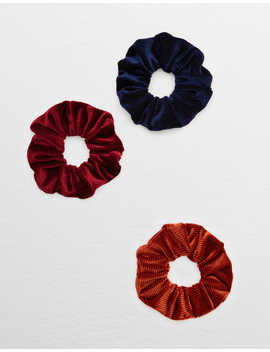 Aerie Corduroy Scrunchie Pack by American Eagle Outfitters
