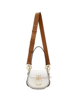 White Croc Small Tess Bag by ChloÉ