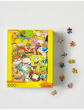 Nmr Nickelodeon 1000 Piece Puzzle by American Eagle Outfitters
