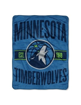 Nba Minnesota Timberwolves Micro Fleece Blanket by Nba