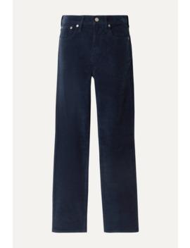 Cotton Blend Corduroy Straight Leg Pants by J.Crew