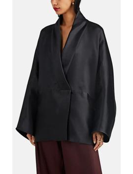Pernia Silk Mikado Opera Jacket by The Row