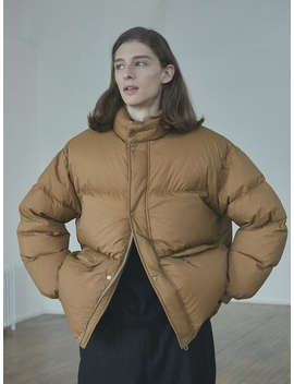 Down Padded Jacket Caramel by Thomas More
