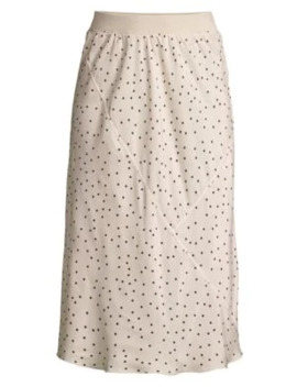 Silk Polka Dot Midi Skirt by Atm Anthony Thomas Melillo