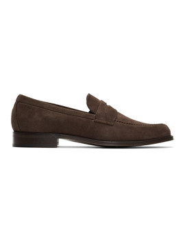 Brown Lowry Loafers by Paul Smith