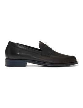 Navy Lowry Loafers by Paul Smith