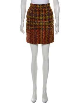 Mini Bouclé Skirt by Christian Lacroix