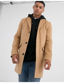 Another Influence Over Coat In Tan by Asos
