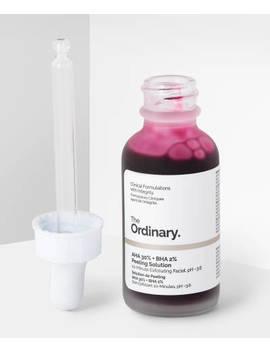 Aha 30% + Bha 2% Peeling Solution by The Ordinary