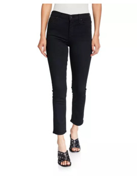 The Mid Rise Dazzler Ankle Jeans by Mother