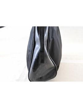 Prada Nylon Hand Bag Black Leather Auth 5972 by Ebay Seller