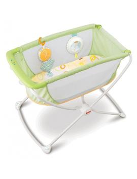 Fisher Price Rock 'n Play Portable Bassinet, Green by Fisher Price