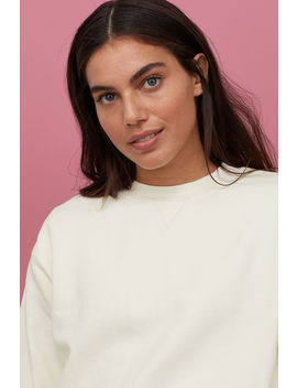 Свитшот из смесового хлопка by H&M