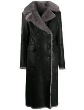 Faux Fur Trim Peacoat by Urbancode